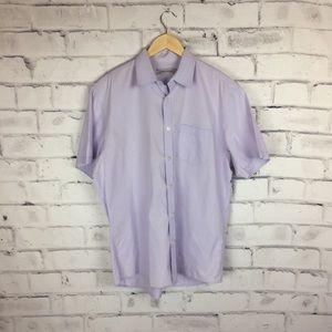 James Campbell lavender shirt